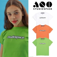 [AQOSTUDIO] AQO CROP WITH LOGO 3COLOR