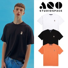 [AQOSTUDIO] AQO SMALL ERIC BEAR T-SHIRTS 3COLOR
